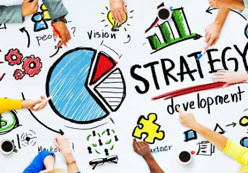 41863276 - strategy development goal marketing vision planning business concept